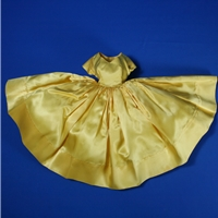 Cissy Fashion - Yellow Satin Dress
